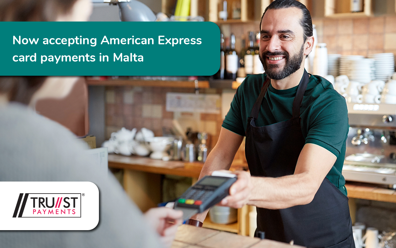 Trust Payments now accepting Amex