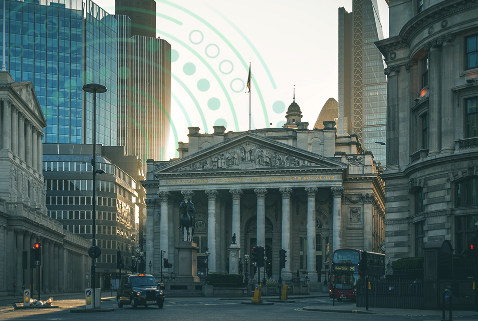 Trust Payments Head office at The Royal Exchange