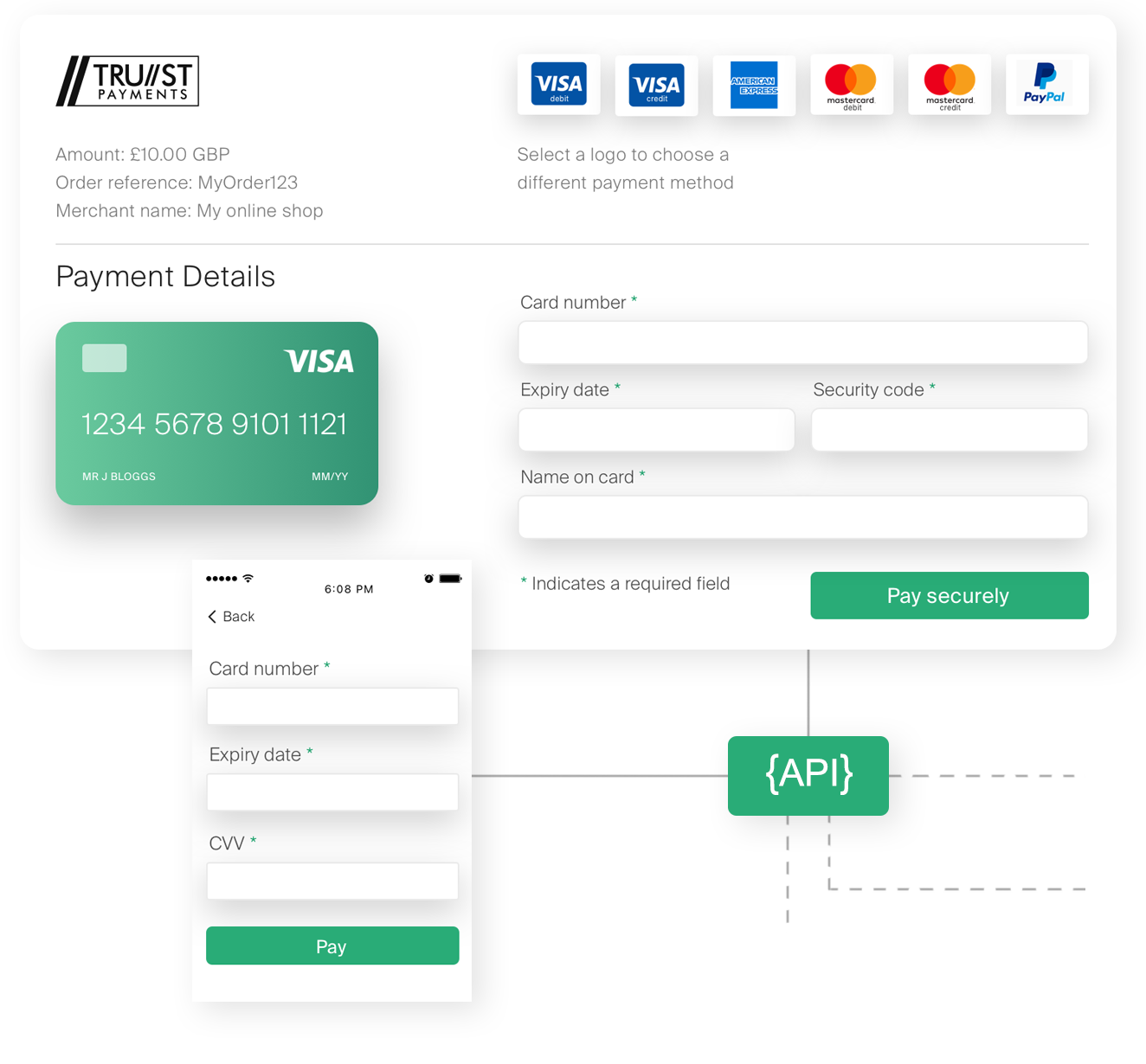 Trust Payments Payment Pages