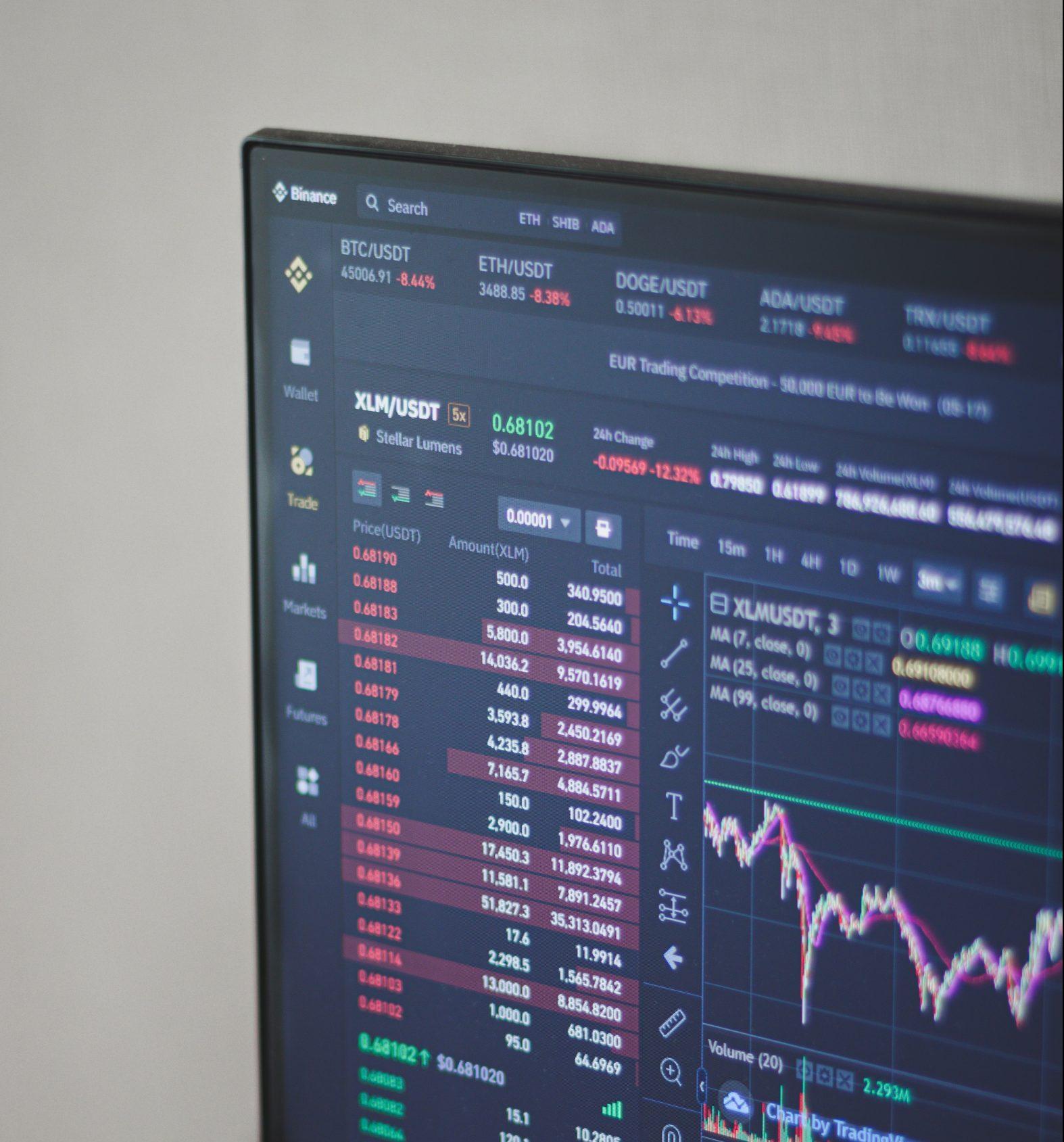 nft marketplace on screen